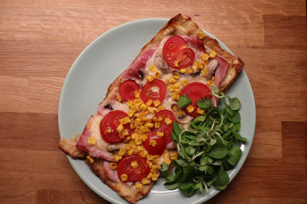 Lexina quinoová pizza je znamenitá pochúťka.